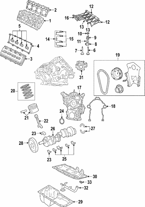2007 dodge charger parts manual